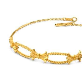 Bow Baroque Gold Bracelets