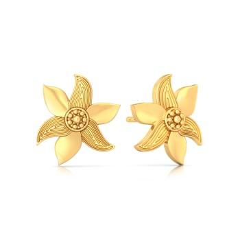 Mustard Musing Gold Earrings