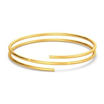 Dagger Collar Gold Bangles