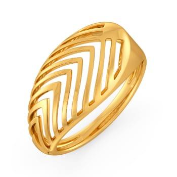 Debonair Dash Gold Rings