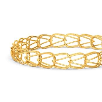 Debonair Dash Gold Bangles