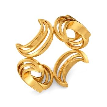Dapper Dressed Gold Rings