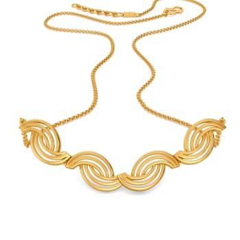 Dapper Dressed Gold Necklaces