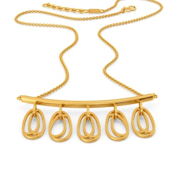 Chic Delights Gold Necklaces