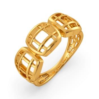 Sassy Chic Gold Rings