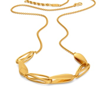 Baby doll Bae Gold Necklaces