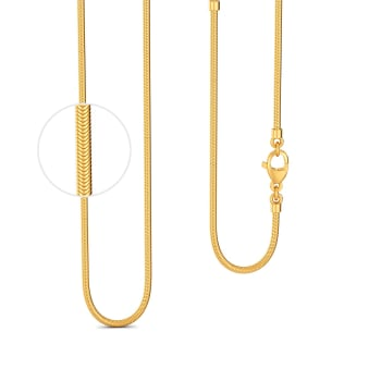 18kt Yellow Gold Snake Chain Gold Chains