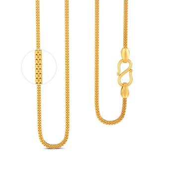 22kt Venetian Cube Chain  Gold Chains