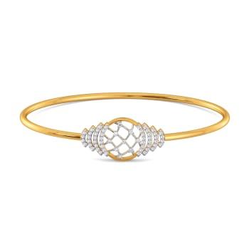 Crochet Nets Diamond Bangles