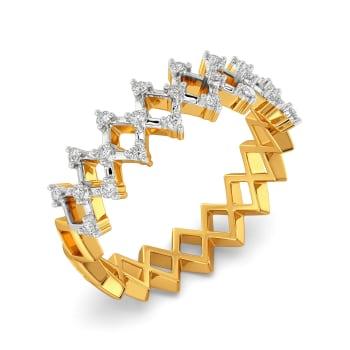 Crochet O Clock Diamond Rings