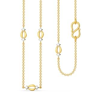 Star A Loop Gold Chains
