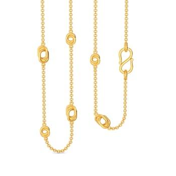 Whirl N Swirl Gold Chains