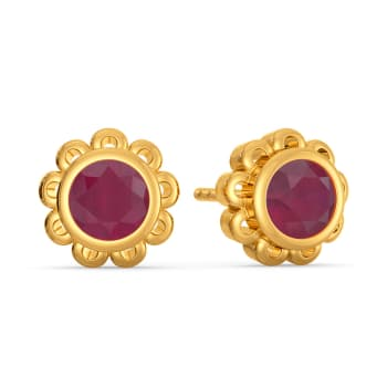 Ruby Riot Gemstone Earrings