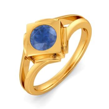 Blue Déjà Vu Gemstone Rings