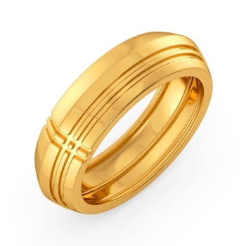 Plaid to Plot Gold Rings