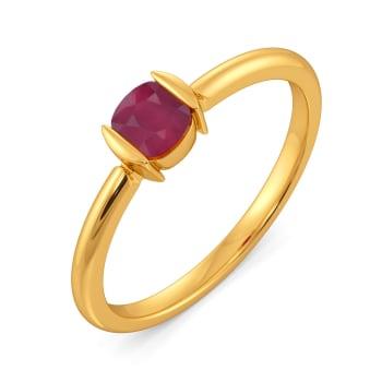 Crimson Care Gemstone Rings