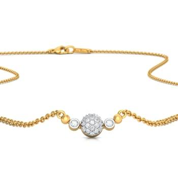 Bound by round Diamond Necklaces