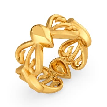 Childhood Cheer Gold Rings