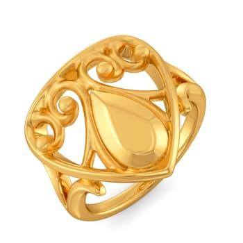 Femme Nostalgic Gold Rings