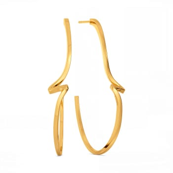 Pivot Play Gold Earrings