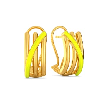 The Tuscan Sun Gold Earrings