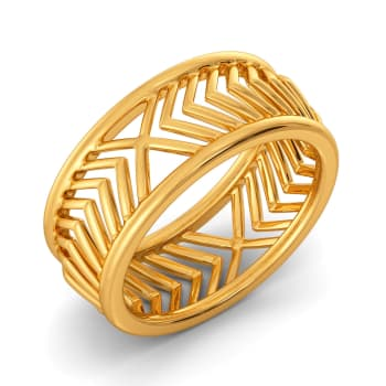 French Suave Gold Rings