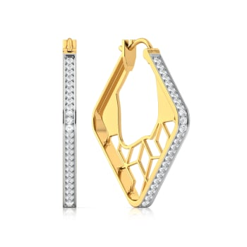 Lace Craze Diamond Earrings