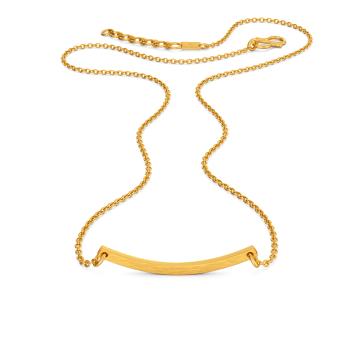 Subtle tones Gold Necklaces