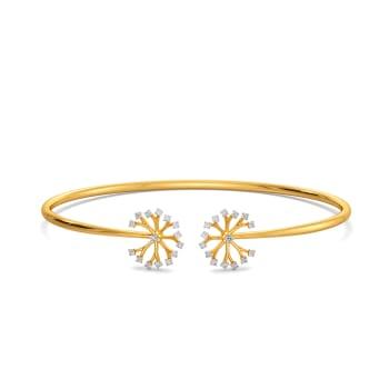Dandelion Dates Diamond Bangles
