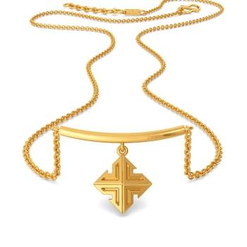 Breezy Short Suit Gold Necklaces