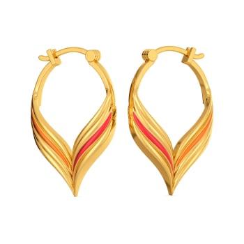 Rhythm Riot Gold Earrings