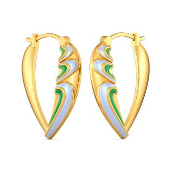 Groovy Drama Gold Earrings