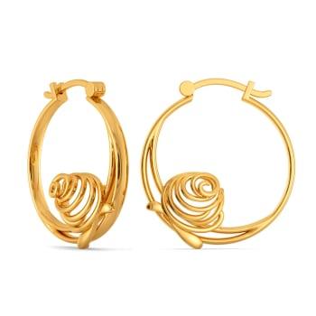 Dark Romance Gold Earrings