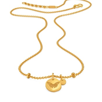 All Things Eco Gold Necklaces