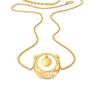 Scarf Mantra Gold Necklaces