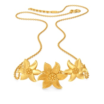 Mustard Musing Gold Necklaces