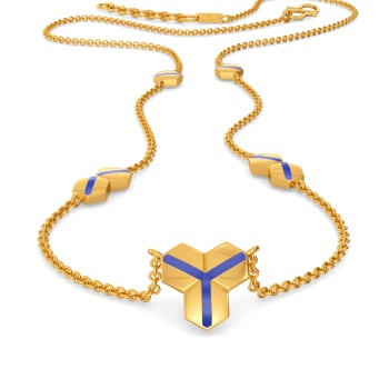 Live In Denim Gold Necklaces