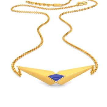 Denim Rules Gold Necklaces