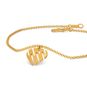 Caring Curls Gold Bracelets