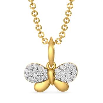 Fly Glorify Diamond Pendants