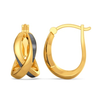 Name the Product Gold Earrings