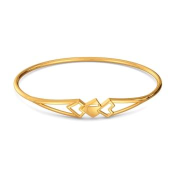 Sweet N Subtle Gold Bangles