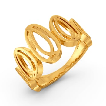 Chic Delights Gold Rings