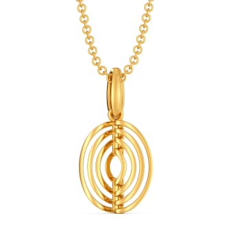 Chic Delights Gold Pendants