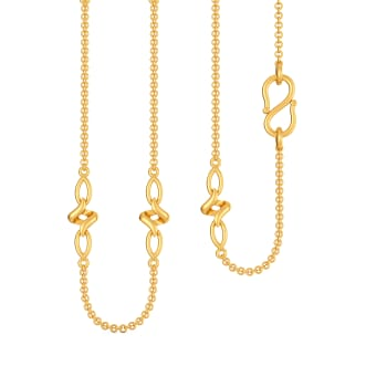Femme de Finesse Gold Chains