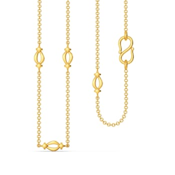 Loop Laces Gold Chains