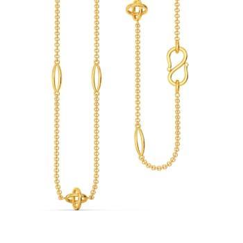 Hula Hoop Gold Chains