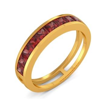 Blush Flushed Gemstone Rings