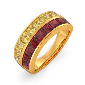Yellow Yonders Gemstone Rings