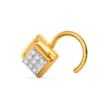 Cocktail Club Diamond Nose Pins